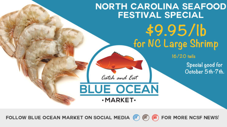 Blue Ocean Market at the 31st Annual NC Seafood Festival