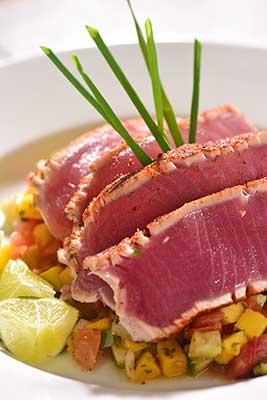 Prepared tuna
